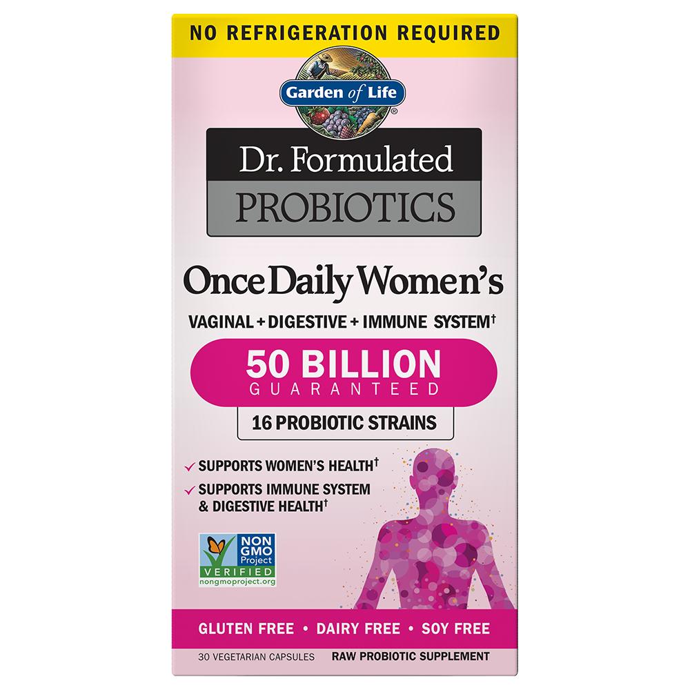 Dr. Formulated Probiotics Once Daily Women's 50 Billion CFU Shelf-stable